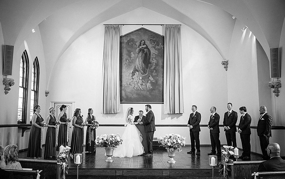 Maine wedding ceremony, traditional chapel, elegant Maine weddings