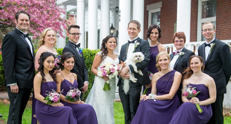 pets, dogs, cats, weddings, Maine wedding venues