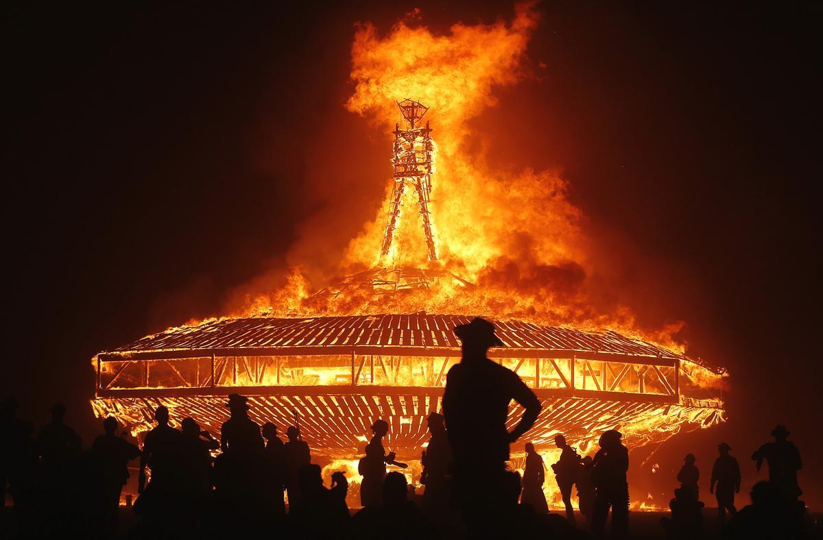 unique honeymoon ideas burning man festival nevada